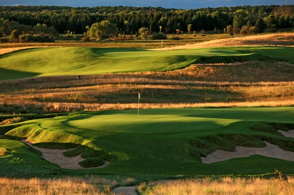 Erin Hills Golf Course, Wisconsin 18th hole 2017 US Open venue