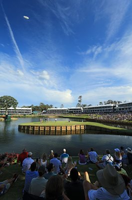 TPC Sawgrass 17th Hole, Players Championship 2017