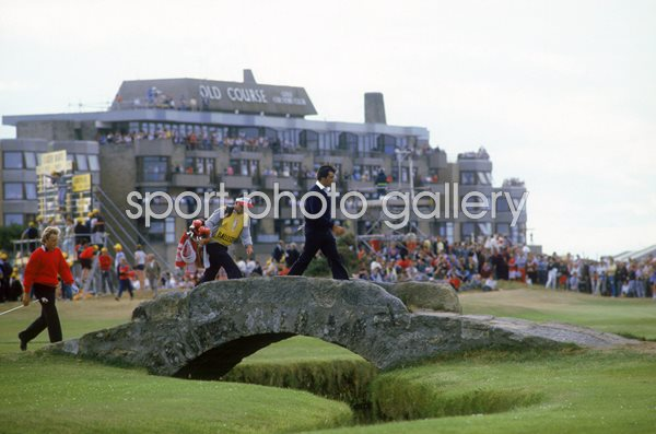 Seve Ballesteros Swilcan Bridge Open St Andrews 1984