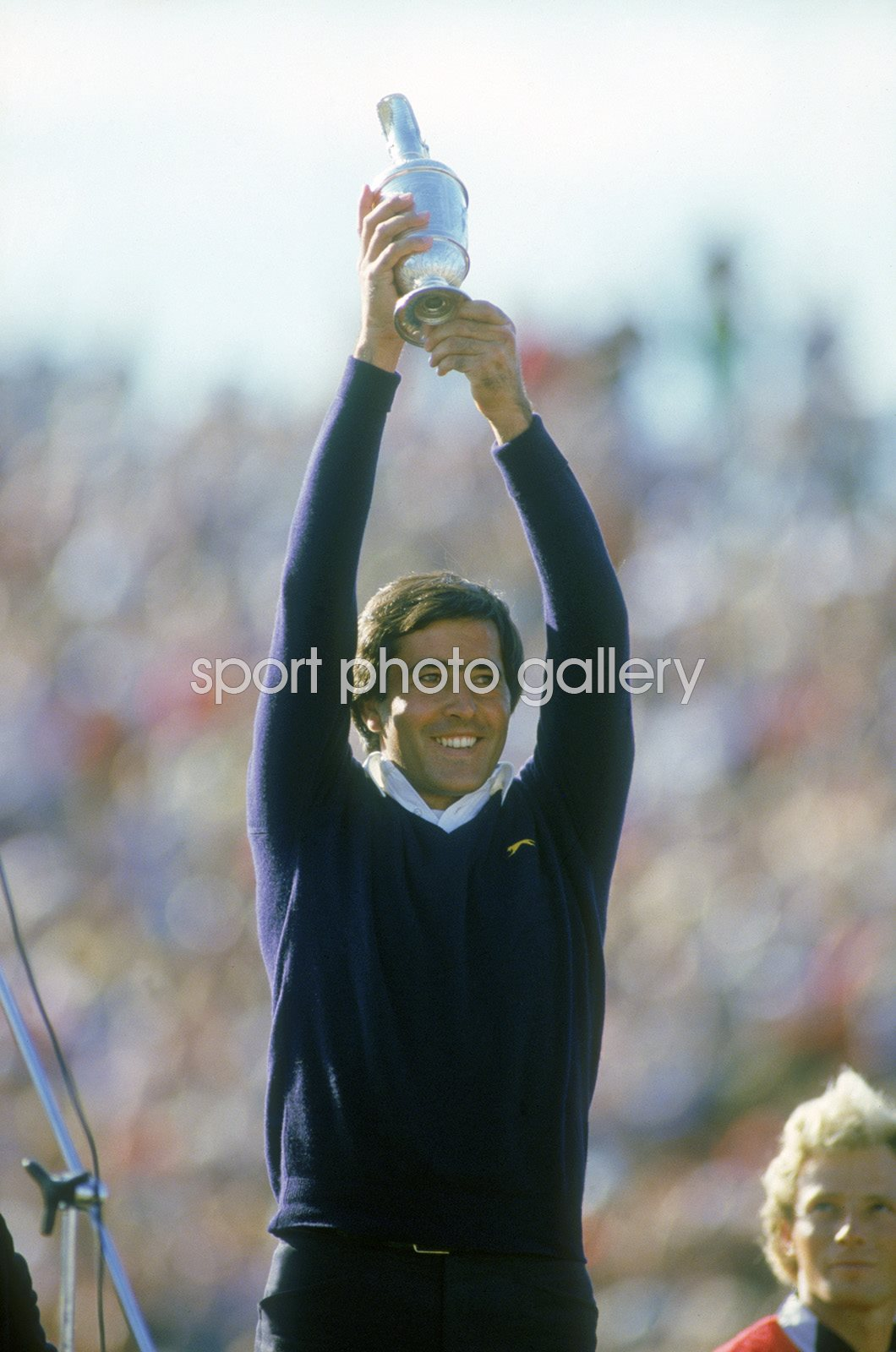 Seve Ballesteros British Open St Andrews 1984