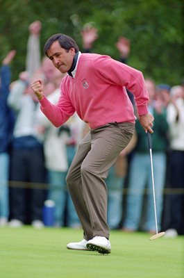 Seve Ballesteros Europe Ryder Cup The Belfry 1983