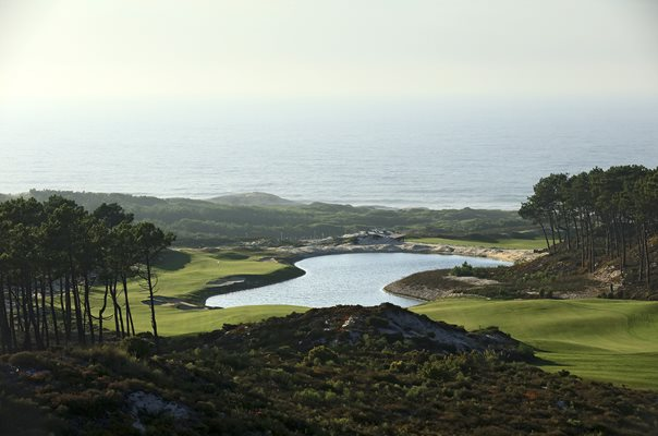 West Cliffs Golf Links Silver Coast Portugal 18th Hole