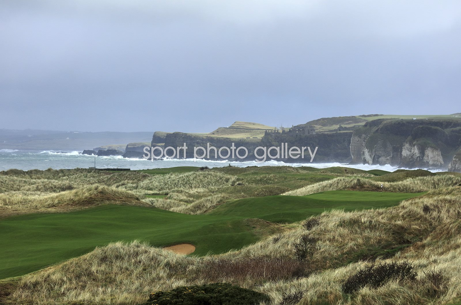 Royal Portrush Golf Club 8th Hole Northern Ireland