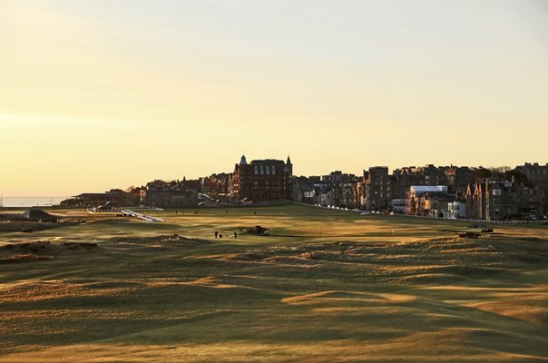 The Old Course at St Andrews 1st, 17th, 18th Holes