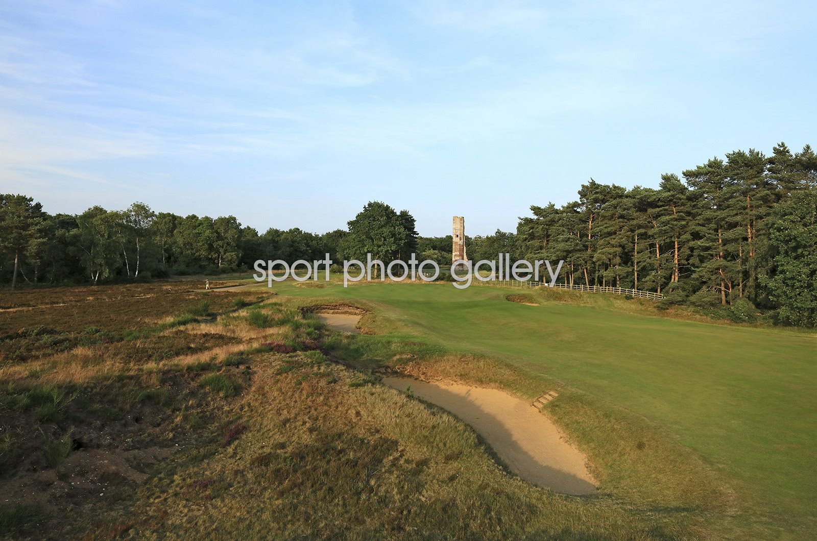 Hotchkin Course Woodhall Spa Golf Club 3rd Hole