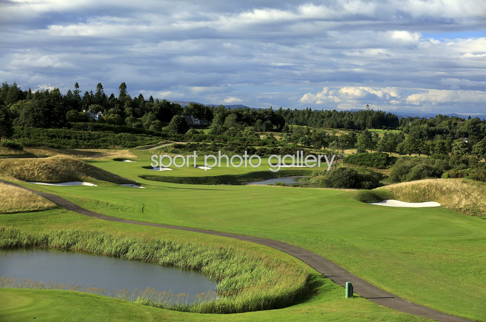Gleneagles Hotel Centenary Course 9th Hole Auchterarder, Scotland