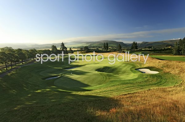 Gleneagles Hotel Centenary Course 18th Hole Auchterarder, Scotland
