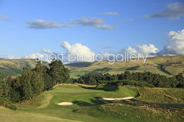 Gleneagles Hotel King's Course 9th Hole Auchterarder, Scotland