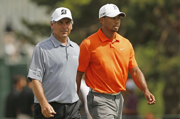 Fred Couples & Tiger Woods Memorial Tournament 2013