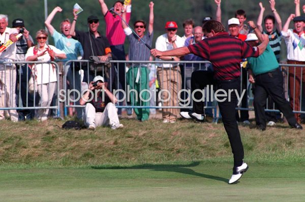 Nick Price Zimbabwe Open Champion Turnberry 1994
