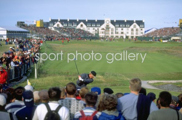 Greg Norman Australia British Open Carnoustie 1999
