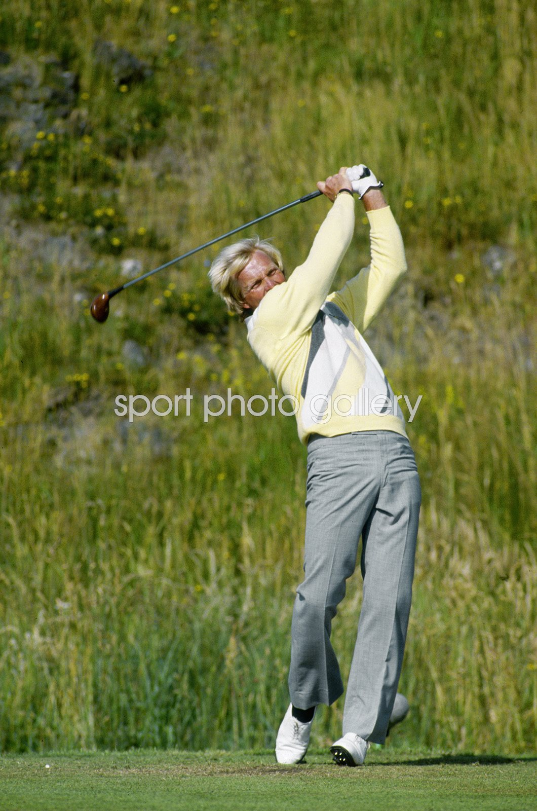 Greg Norman Australia British Open Turnberry 1986
