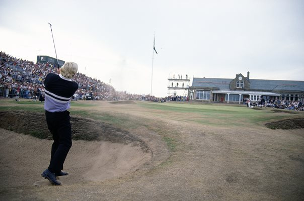 Greg Norman British Open Royal Troon 1989