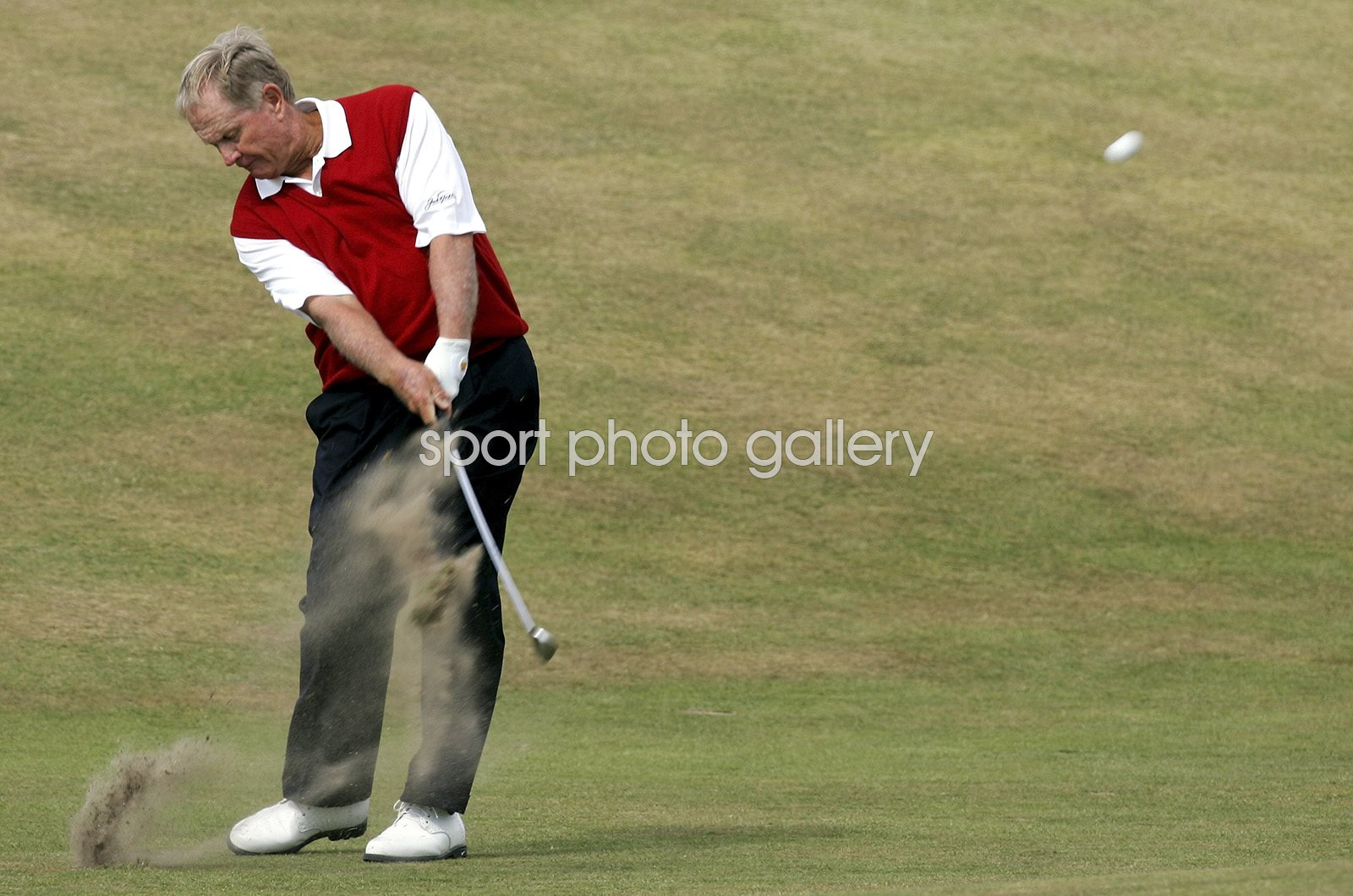 Jack Nicklaus Final Open Round St Andrews 2005