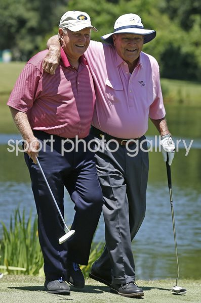 Jack Nicklaus & Arnold Palmer Insperity Championship Texas 2013