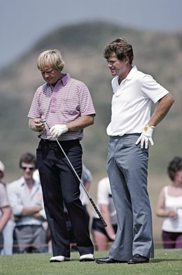 Tom Watson & Jack Nicklaus British Open Birkdale 1983