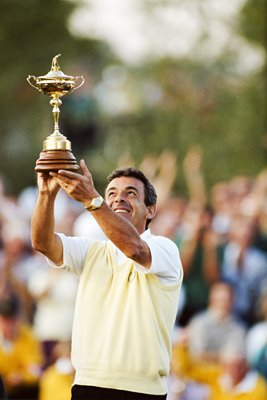 Tony Jacklin European Captain Ryder Cup 1989