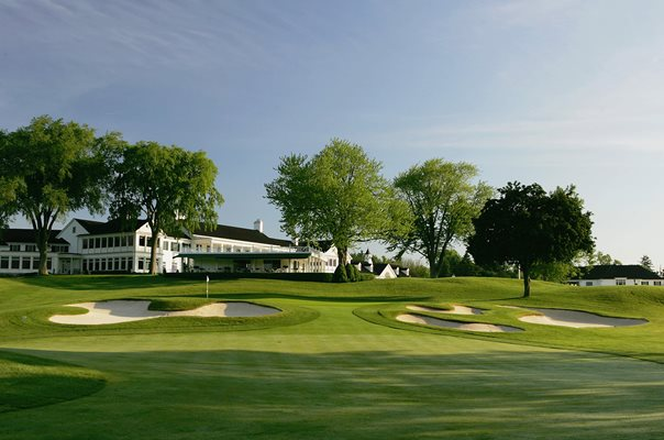 Oakland Hills South Course 18th Hole 2004 Ryder Cup venue