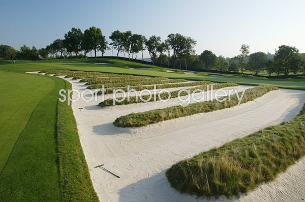 Oakmont Country Club 3rd Hole Church Pews
