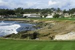 Pebble Beach Golf Links, California 18th hole Prints