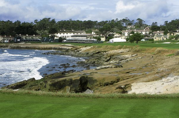 Pebble Beach Golf Links, California 18th hole