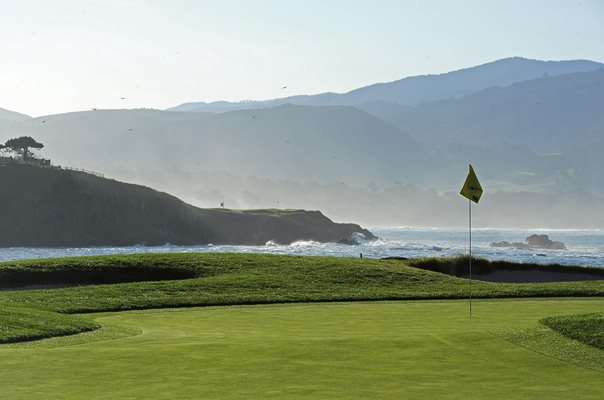 Pebble Beach Golf Links, California 17th hole