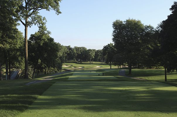 Medinah Country Club 13th Hole Ryder Cup venue 2012
