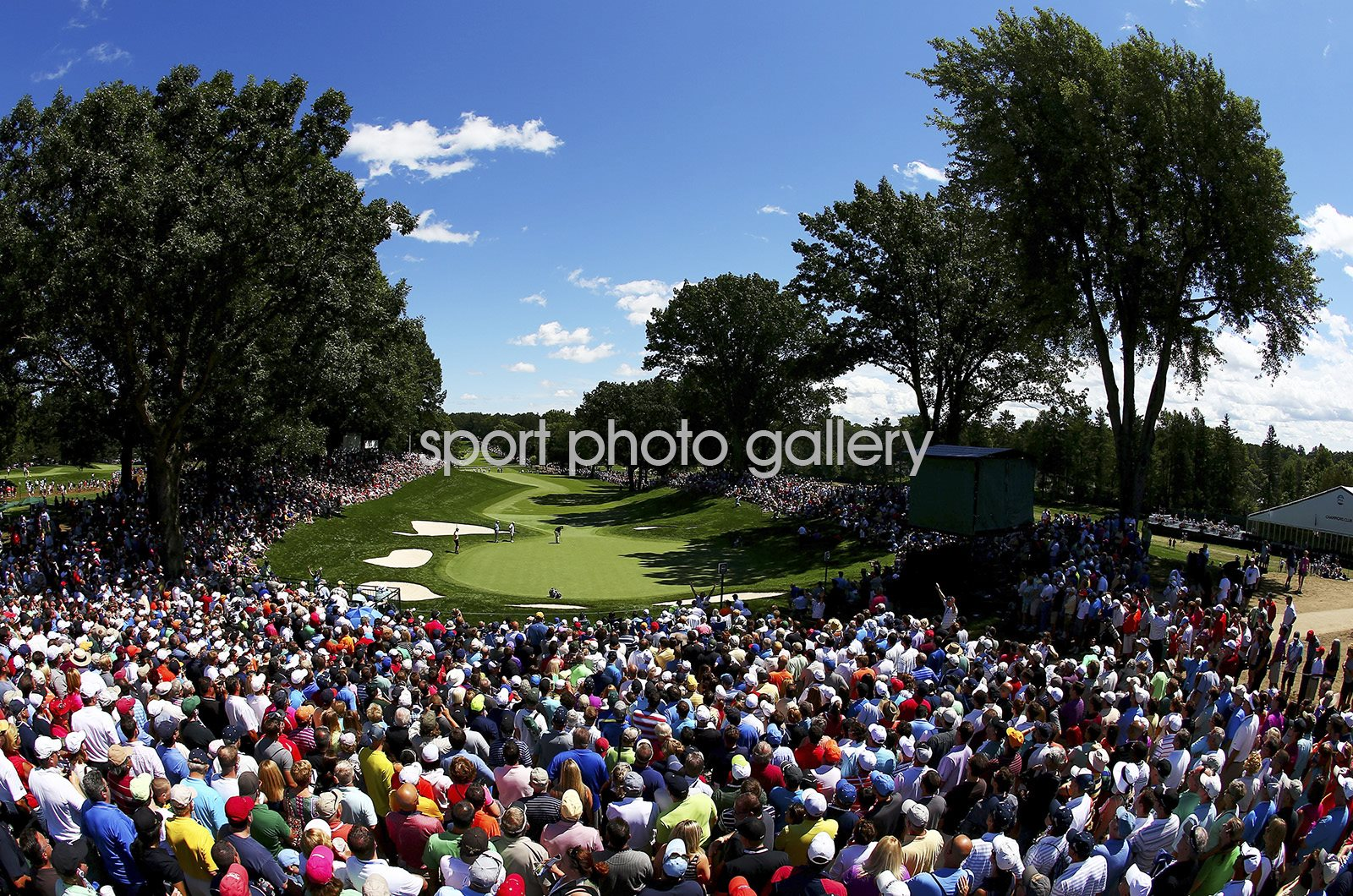 Oak Hill Country Club 13th Green USPGA 2013