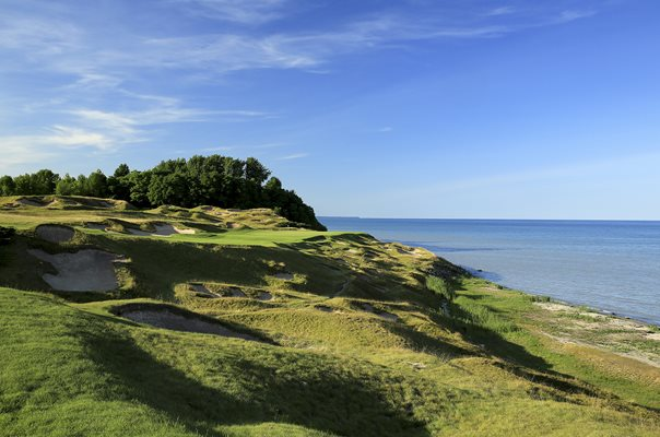 Whistling Straits, Kohler, Wisconsin 8th Hole
