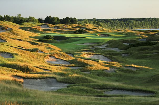 Whistling Straits, Kohler, Wisconsin 645 yard 11th Hole