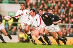 Will Carling England v Scotland 5 Nations Twickenham 1995 Acrylic