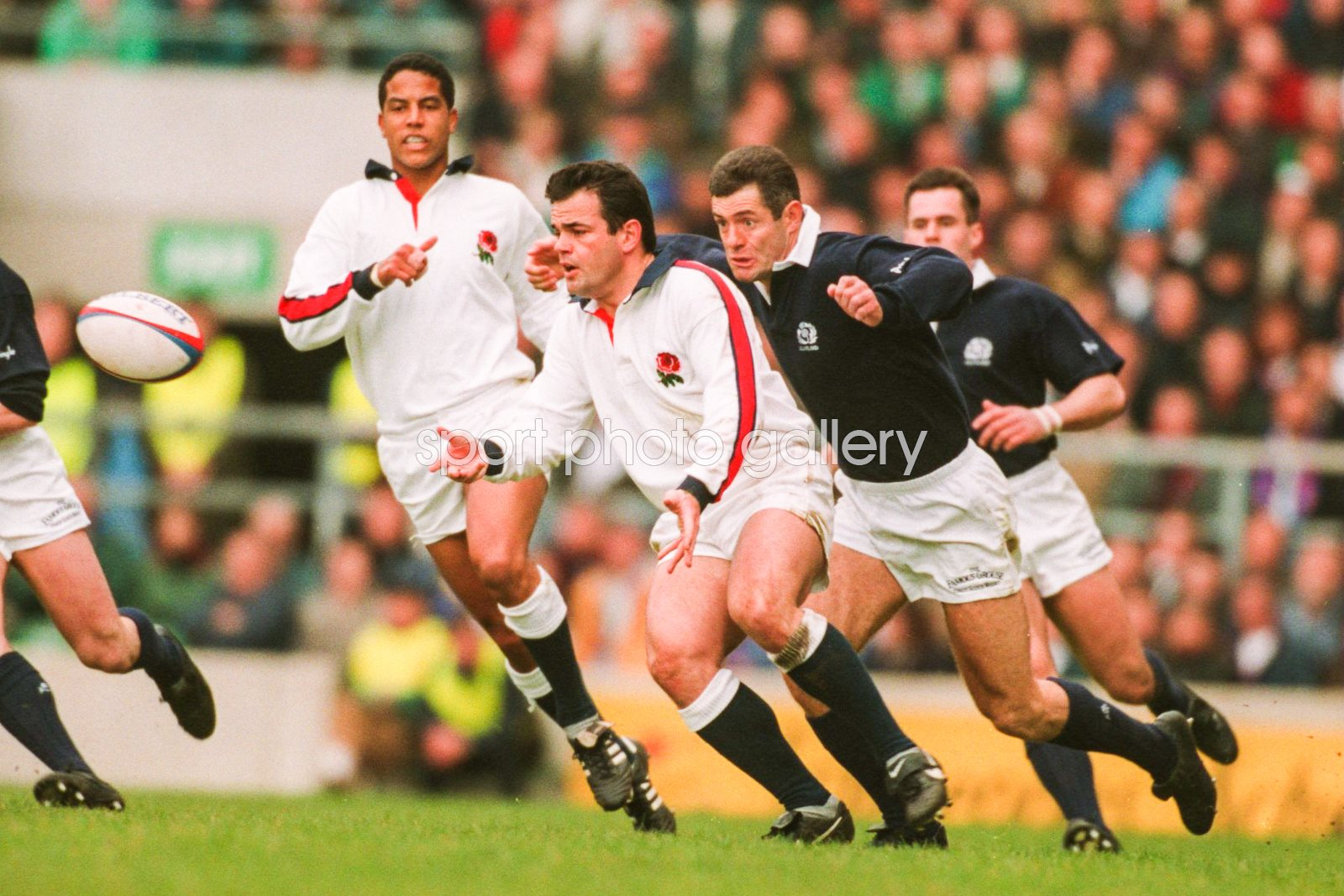 Will Carling England v Scotland 5 Nations Twickenham 1995