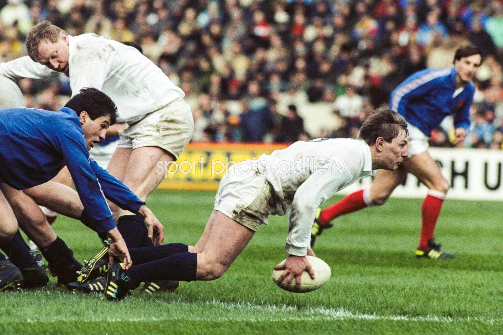 Gary Amstrong Scotland v France 5 Nations Murrayfield 1990