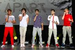 One Direction on stage in Sydney 2012 Prints