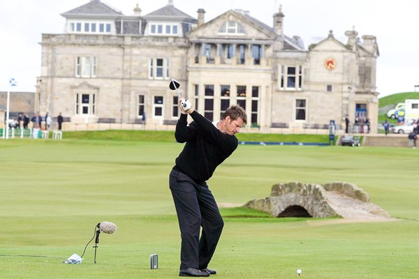 Nick Faldo Dunhill Links Championship The Old Course, St Andrews 2002
