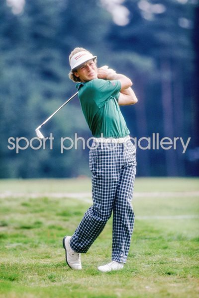 Bernhard Langer 1986 Pan-European Open