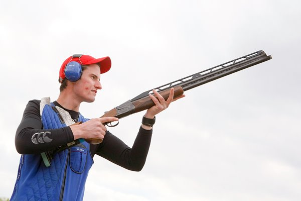 Peter Wilson Double Trap Shooting 2012