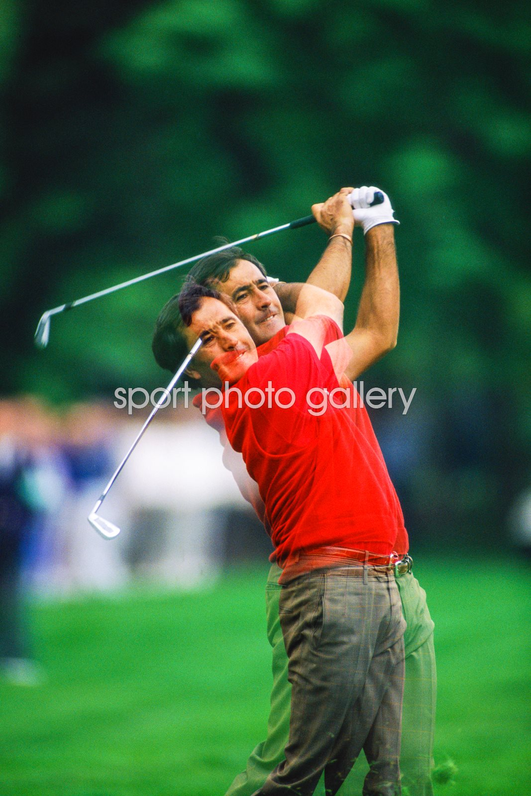 Seve Ballesteros Double Vision Swing Wentworth 1991