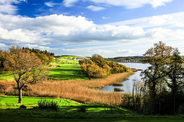 Faldo Championship Course 16th Hole Lough Erne Resort 2010