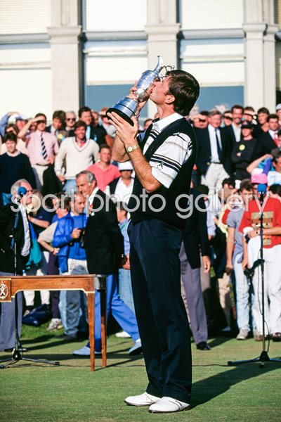 Nick Faldo British Open Champion St Andrews 1990