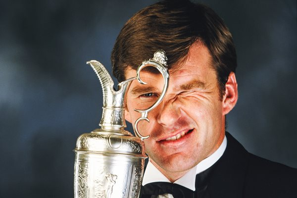 Nick Faldo British Open Champion 1990