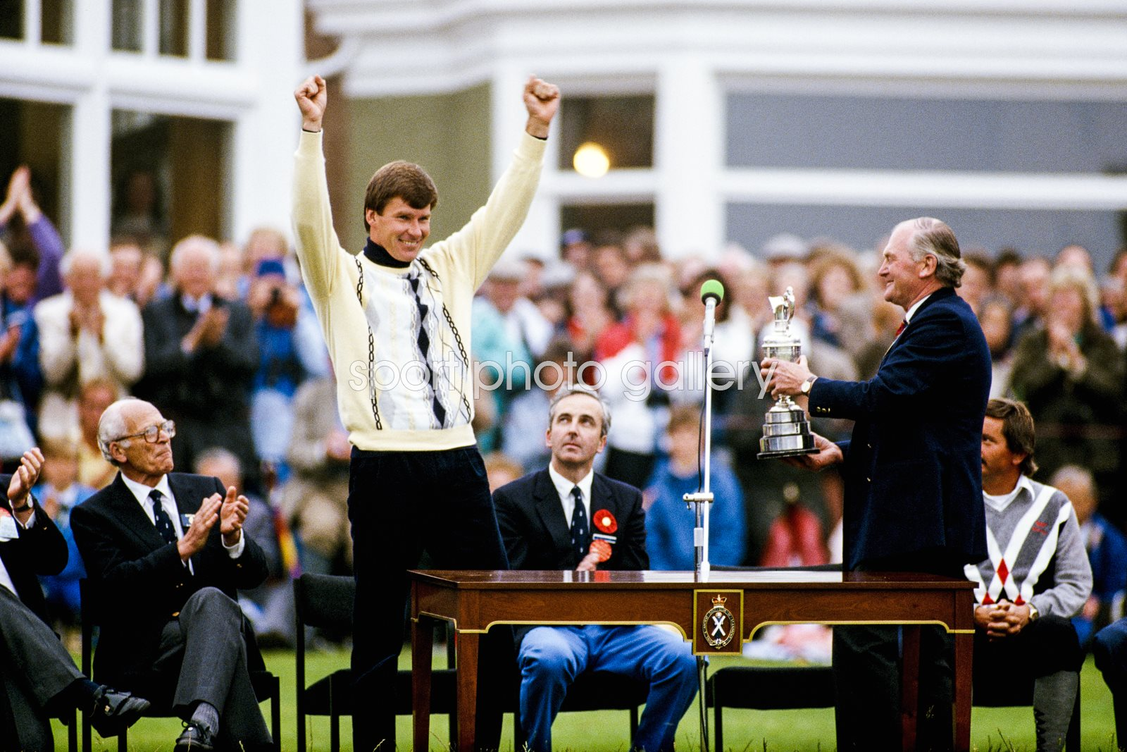 Nick Faldo British Open Champion Muirfield 1987