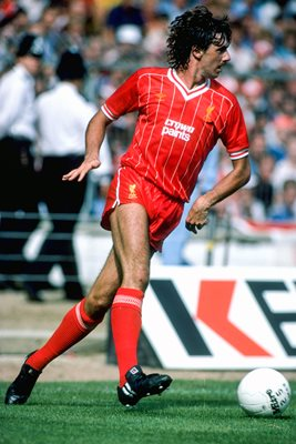 Mark Lawrenson Liverpool Charity Shield Wembley 1983