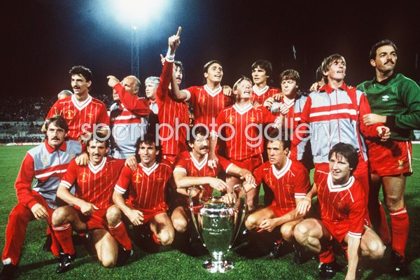 Liverpool European Cup Champions Rome 1984