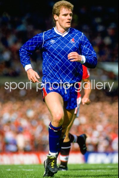 Gordon Durie Chelsea v Manchester United Old Trafford