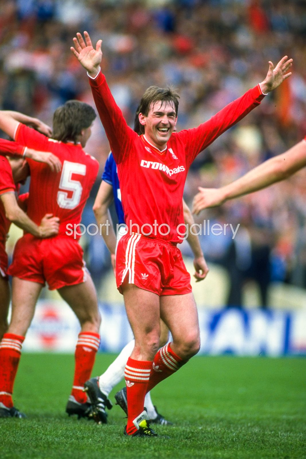Kenny Dalglish Liverpool v Everton FA Cup Final 1986