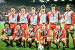 Liverpool team v Juventus European Cup Final Heysel 1985 Prints