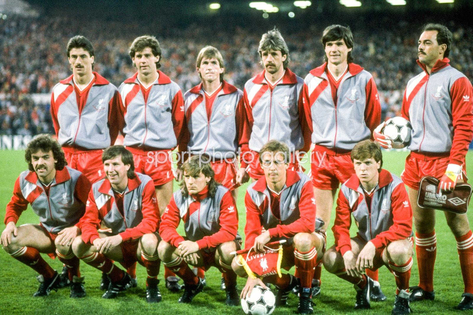 Liverpool team v Juventus European Cup Final Heysel 1985