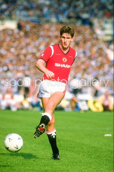 Norman Whiteside Manchester United v Everton FA Cup Final 1985