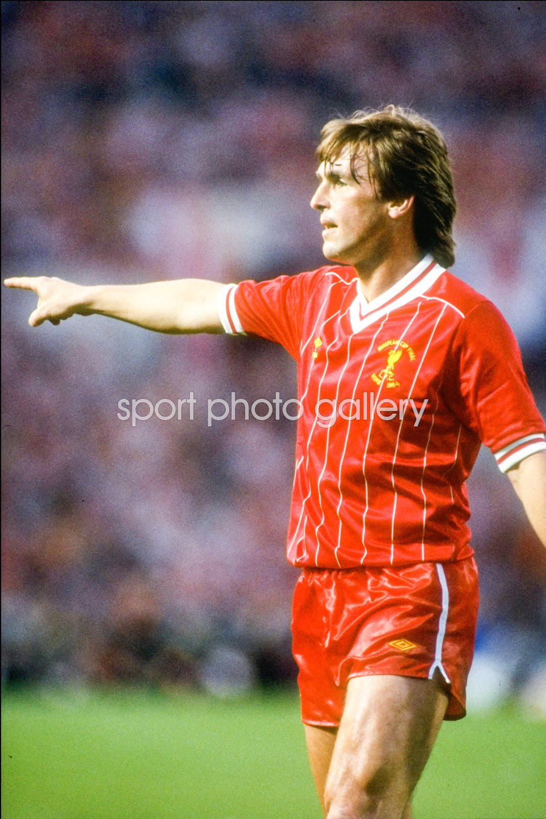 Kenny Dalglish Liverpool European Cup Final Rome 1984